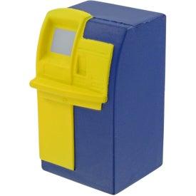 Imprinted ATM Machine Stress Toy