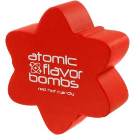 Atomic Symbol Stress Ball with Your Slogan