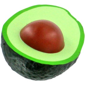Imprinted Avocado Stress Ball