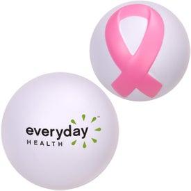 Promotional Awareness Ribbon Stressball