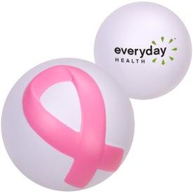Printed Awareness Ribbon Stressball