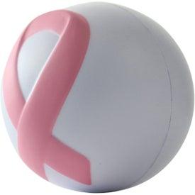 Customized Awareness Ribbon Stressball