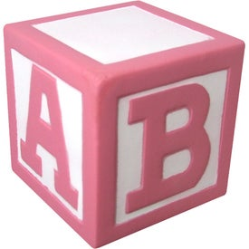 Baby Block Stress Ball