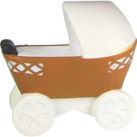 Baby Carriage Stress Ball with Your Logo