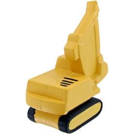 Custom Backhoe Stress Toy