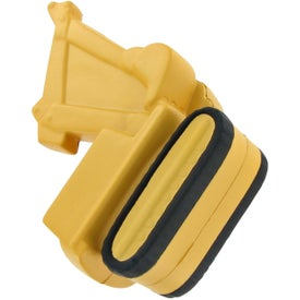 Promotional Backhoe Stress Toy