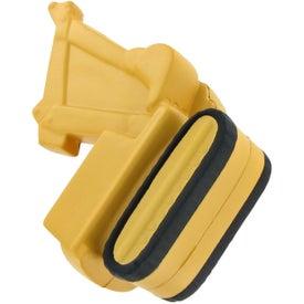 Promotional Backhoe Stress Toy