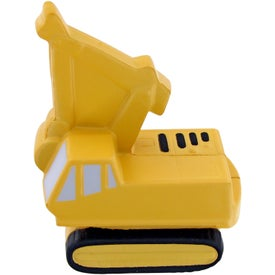 Personalized Backhoe Stress Toy