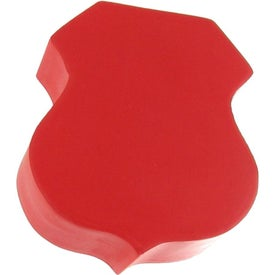 Badge/Road Sign Shape Stress Ball for Advertising