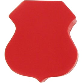 Badge/Road Sign Shape Stress Ball for Promotion