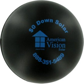 Round Stress Reliever Branded with Your Logo