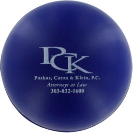 Personalized Round Stress Reliever