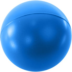 Imprinted Round Stress Reliever