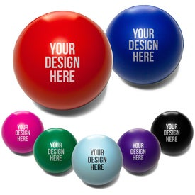 Round Stress Reliever with Your Logo