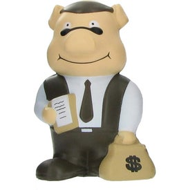 Banker Pig Stress Ball for Your Organization