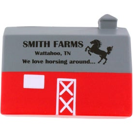 Barn Stress Ball Printed with Your Logo