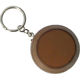 Printed Barrel Key Ring Stress Reliever