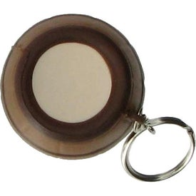 Barrel Key Ring Stress Reliever Imprinted with Your Logo