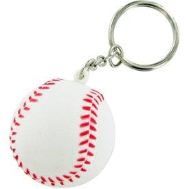 Baseball Keychain Stress Toy for Customization