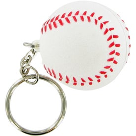 Baseball Keychain Stress Toy for Your Organization