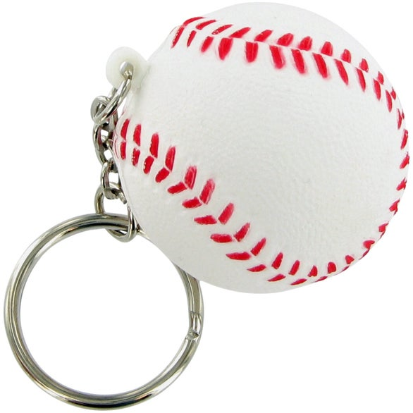Baseball Keychain Stress Toy