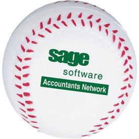 Branded Baseball Stress Balls