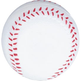 Baseball Stress Balls with Your Slogan