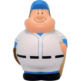Branded Baseball Bert Stress Reliever