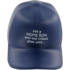 Baseball Hat Stress Ball for Your Company