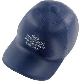 Promotional Baseball Hat Stress Ball