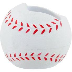 Logo Baseball Cell Phone Holder Stress Toy