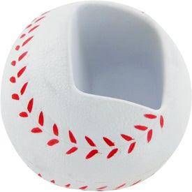 Advertising Baseball Cell Phone Holder Stress Toy