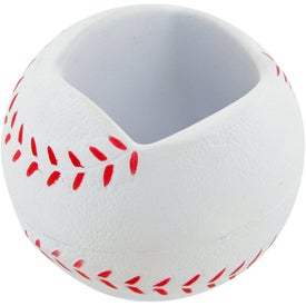 Baseball Cell Phone Holder Stress Toy Giveaways