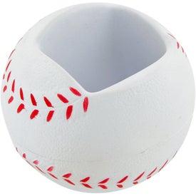 Baseball Cell Phone Holder Stress Toy