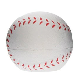 Baseball Shaped Cell Phone Holder Stress Ball for Your Organization