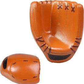 Monogrammed Baseball Glove Stress Reliever