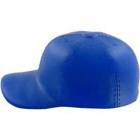 Personalized Baseball Hat Stress Toy