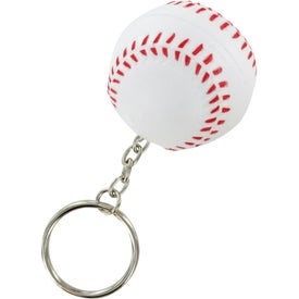 Baseball Key Chain Stress Ball for Promotion
