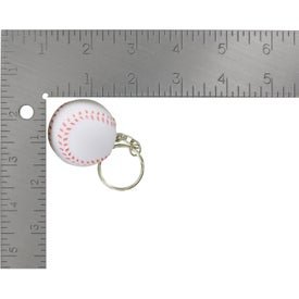 Baseball Key Chain Stress Ball with Your Logo