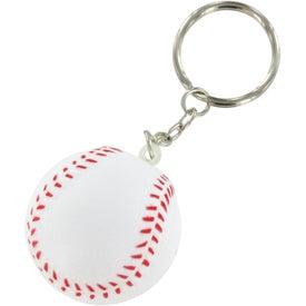 Baseball Key Chain Stress Ball