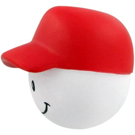 Baseball Mad Cap Stress Ball for Your Organization