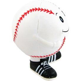 Company Baseball Man Stress Toy