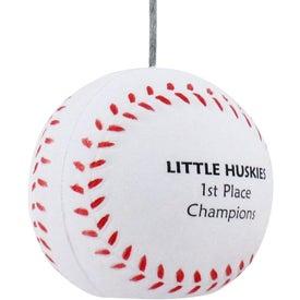 Baseball Memo Holder Stress Ball for your School