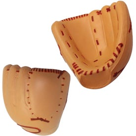 Baseball Mitt Stress Reliever Imprinted with Your Logo