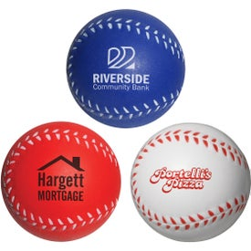 Baseball Slo-Release Serenity Squishy Stress Ball