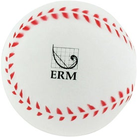 Printed Baseball Stress Reliever