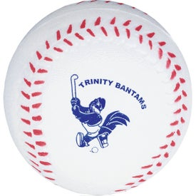 Monogrammed Baseball Stress Balls