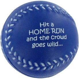 Custom Baseball Stress Ball for Promotion