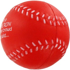 Custom Baseball Stress Ball for Promotion