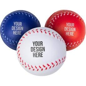 Custom Baseball Stress Ball Printed with Your Logo